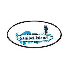 Sanibel Island - Surf Design. Patches