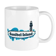 Sanibel Island - Surf Design. Mug