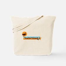 Sanibel Island - Beach Design. Tote Bag