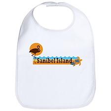 Sanibel Island - Beach Design. Bib
