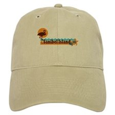 Sanibel Island - Beach Design. Baseball Cap