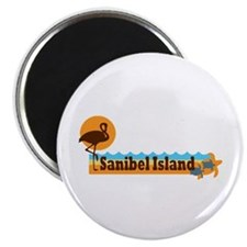 Sanibel Island - Beach Design. Magnet