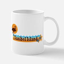 Sanibel Island - Beach Design. Mug