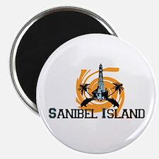 Sanibel Island - Lighthouse Design. Magnet