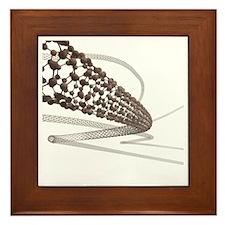 Nanotube technology, artwork - Framed Tile