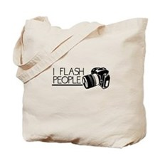 I Flash People Tote Bag