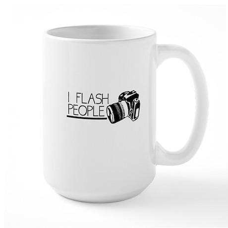 I Flash People Large Mug