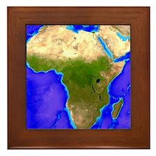 Africa - Framed Tile