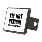 Not Cynical Rectangular Hitch Cover