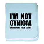 Not Cynical baby blanket