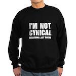 Not Cynical Sweatshirt (dark)
