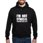 Not Cynical Hoodie (dark)