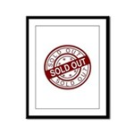 Sold Out Framed Panel Print