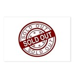 Sold Out Postcards (Package of 8)