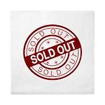 Sold Out Queen Duvet