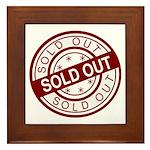 Sold Out Framed Tile