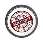 Sold Out Wall Clock