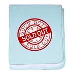 Sold Out baby blanket