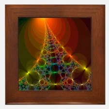 Fractal, artwork - Framed Tile