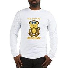 Monkey Business Stay Out Long Sleeve T-Shirt