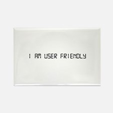 User Friendly Rectangle Magnet (10 pack)