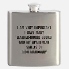 VIP Mahogany Flask