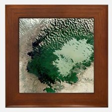 Lake Chad - Framed Tile