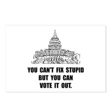 Vote Out Stupid Postcards (Package of 8)