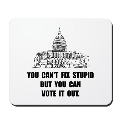 Vote Out Stupid Mousepad