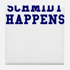 Schmidt Happens Tile Coaster