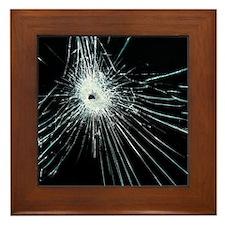 Broken glass - Framed Tile