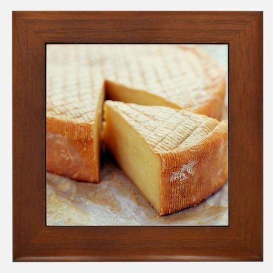 Camembert cheese - Framed Tile