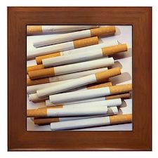 Cigarettes - Framed Tile