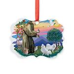 St.Francis #2/ Am Eskimo (2) Picture Ornament