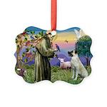 SAINT FRANCIS Picture Ornament