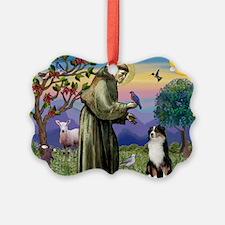 S, Fr, #2/ Australian Shep 2 Ornament
