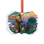 St Francis #2/ B Shepherd Picture Ornament