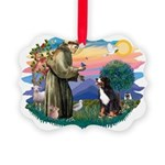 St Francis #2/ BMD Picture Ornament