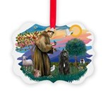 St Francis #2/ Bouvier Picture Ornament