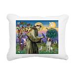St. Fran. / Brittany Rectangular Canvas Pillow