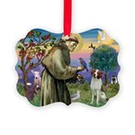 St. Fran. / Brittany Picture Ornament