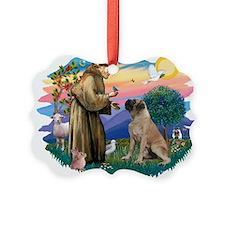 St.Francis #2/ Bull Mastiff Ornament