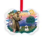 St.Francis #2/ Cairn T (#14) Picture Ornament