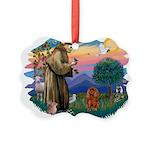 St.Fran #2/ Cavalier (r) Picture Ornament