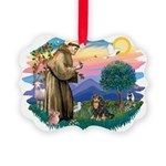St.Francis #2/Cavalier (BT) Picture Ornament