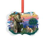 St.Francis #2/ E Bulldog #3 Picture Ornament