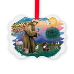 St.Francis #2/ Fr Bulldog (br Picture Ornament