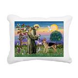German shepherd Rectangle Canvas Pillows