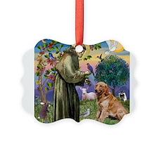 St Francis & Golden Ornament