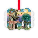 S, Fr, #2/ Greater Swiss MD Picture Ornament